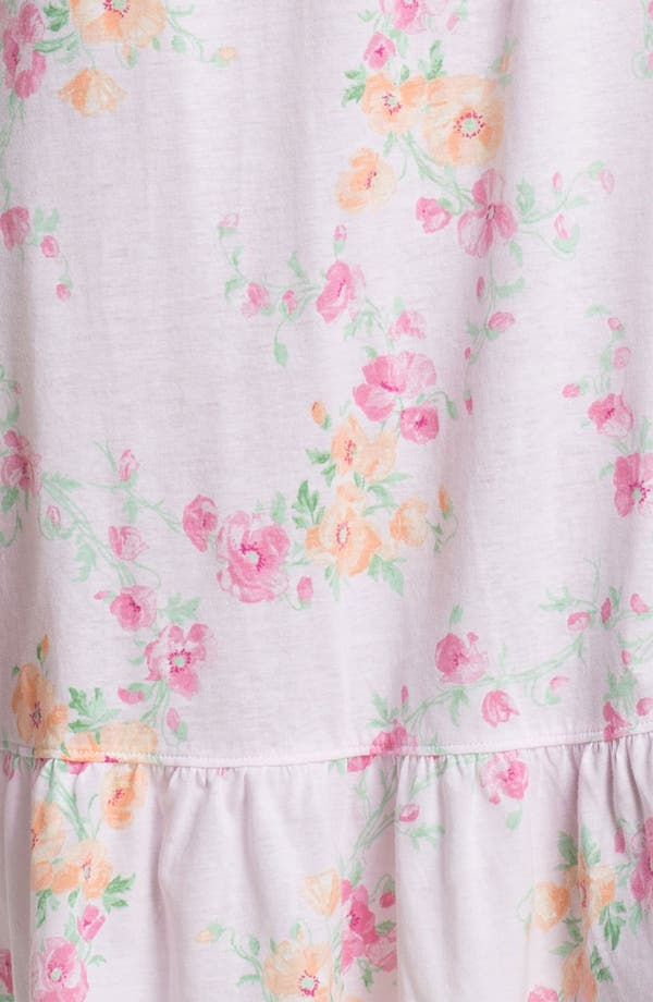 Alternate Image 3  - Lauren Ralph Lauren Ruffled Short Nightgown