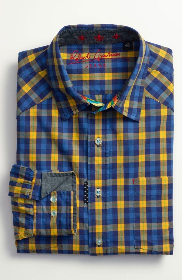 Alternate Image 2  - Robert Graham 'Malevich' Regular Fit Sport Shirt