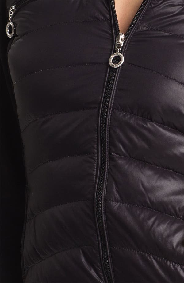 Alternate Image 3  - Calvin Klein Mixed Media Down Jacket