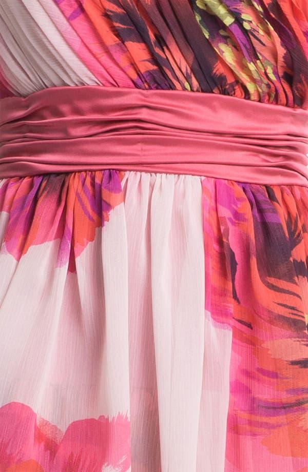 Alternate Image 3  - Max & Cleo One Shoulder Tiered Chiffon Dress