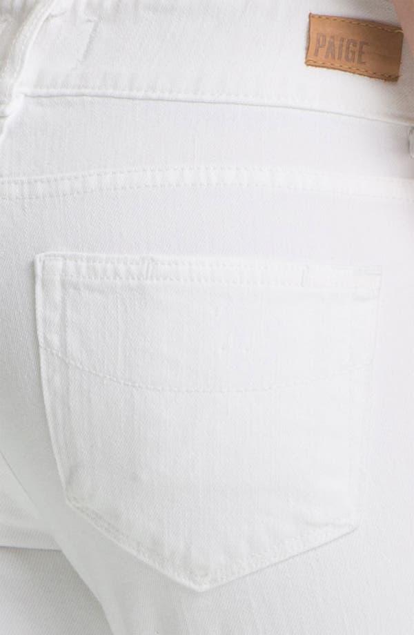 Alternate Image 3  - Paige Denim 'Hidden Hills' Straight Leg Stretch Jeans (Optic White)