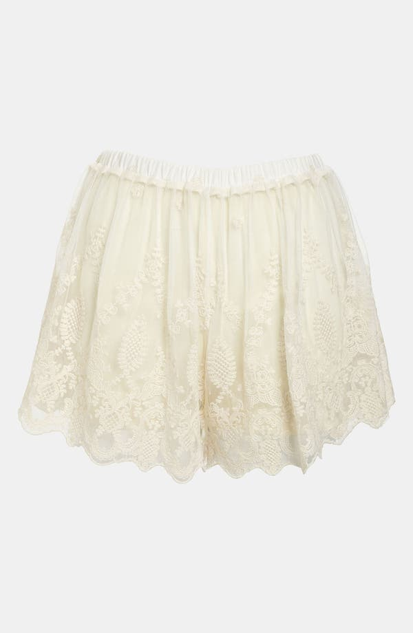 Alternate Image 1 Selected - ASTR Lace Shorts
