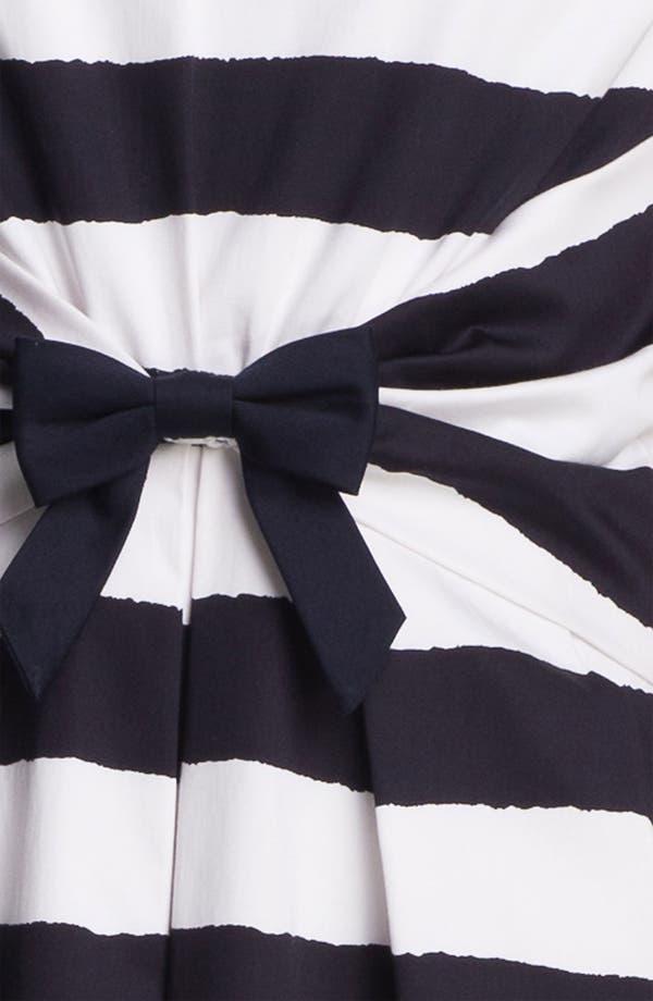 Alternate Image 3  - Tahari Bow Detail Stripe Dress