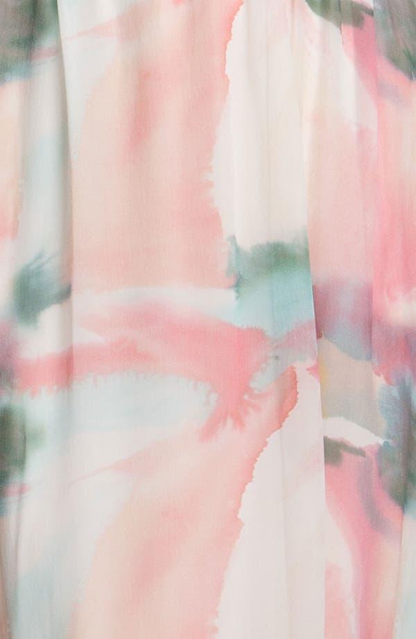 Alternate Image 3  - Alice + Olivia Print Silk Maxi Dress