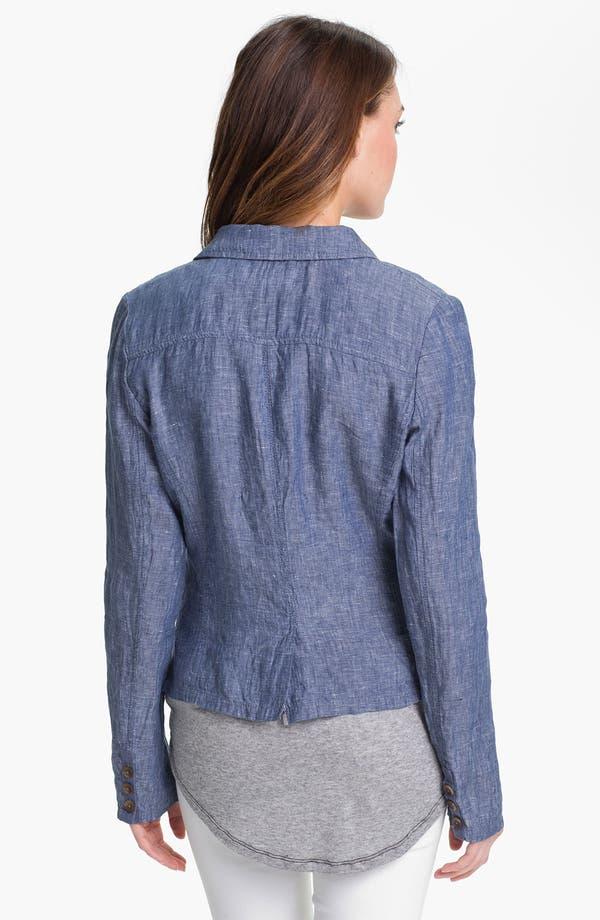 Alternate Image 2  - Caslon Casual Linen Jacket