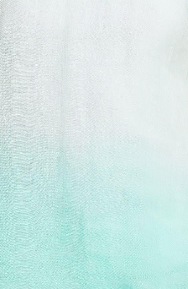 Alternate Image 3  - Eileen Fisher Dip Dye Linen Tunic