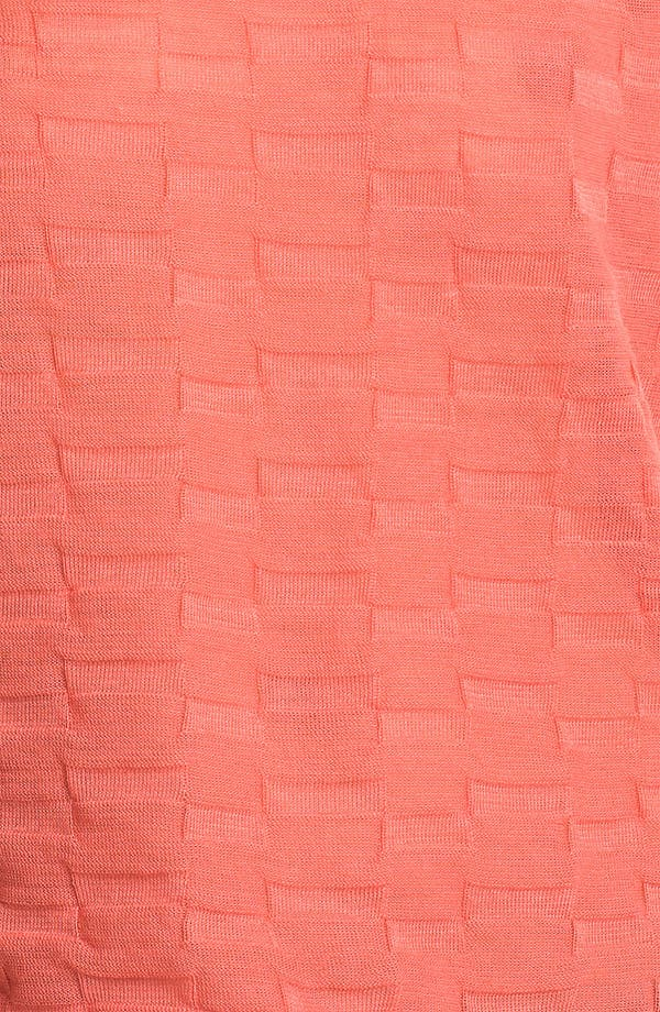 Alternate Image 3  - Trouvé Textured Sheer Cap Sleeve Top