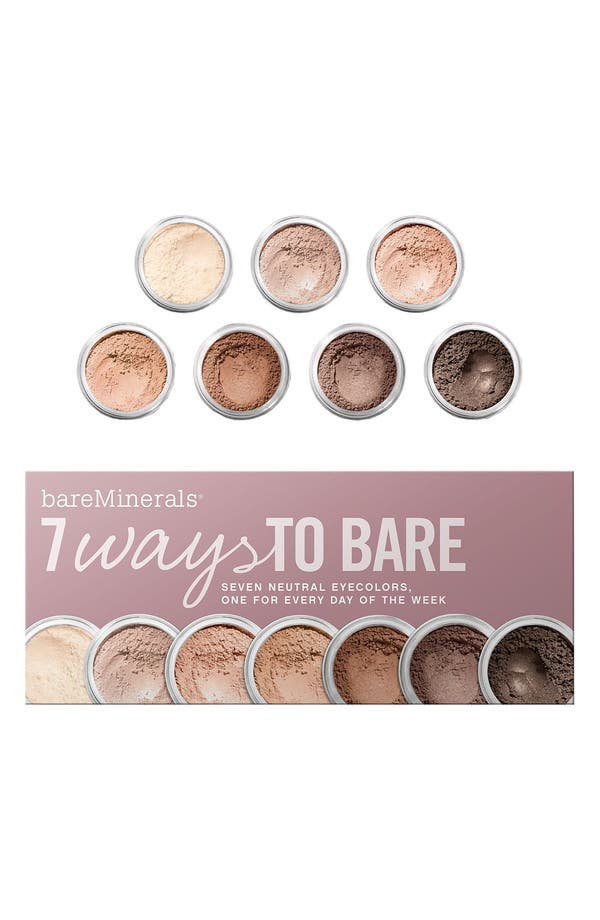 Alternate Image 1 Selected - bareMinerals® '7 Ways to Bare' Eyecolor Collection ($77 Value)