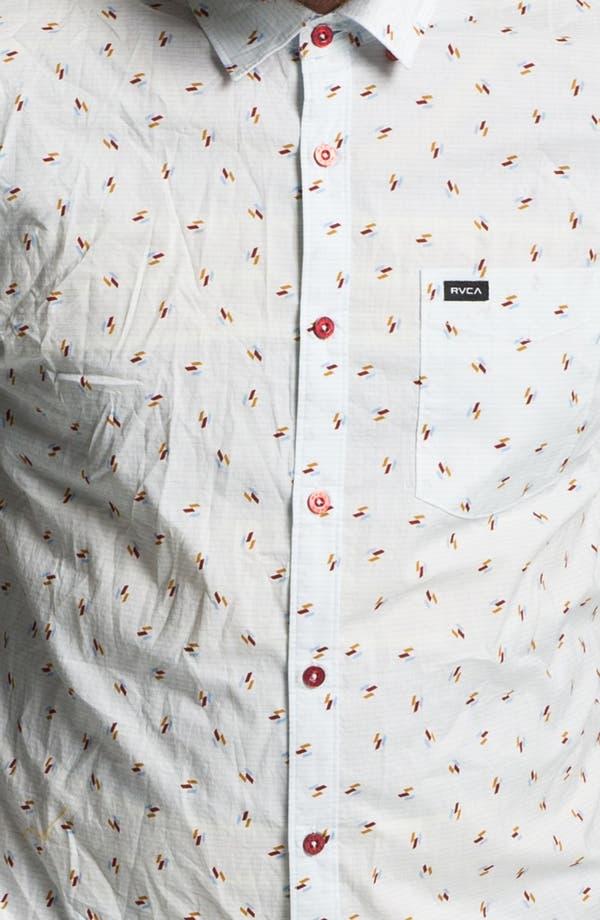 Alternate Image 2  - RVCA 'Avalon' Slim Fit Short Sleeve Sport Shirt