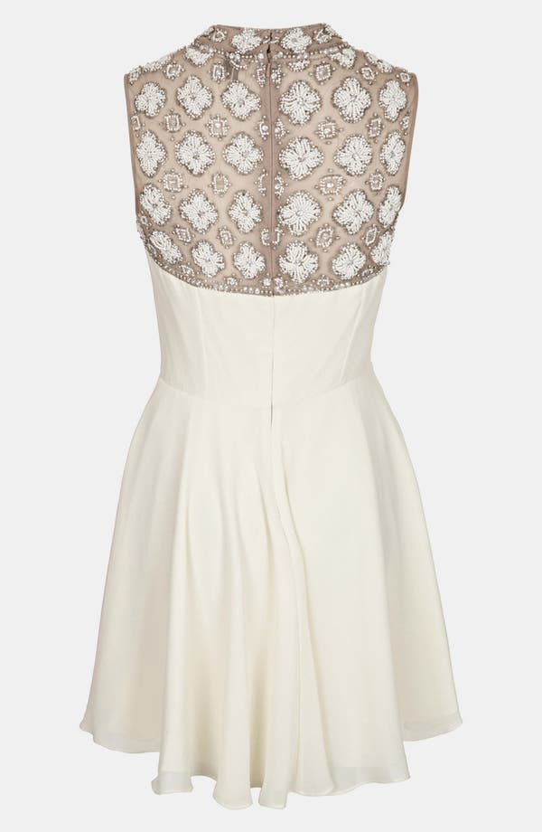 Alternate Image 2  - Topshop Embellished Skater Dress