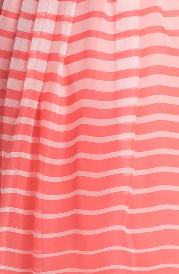 Alternate Image 3  - Vince Camuto Stripe Chiffon Shirtdress