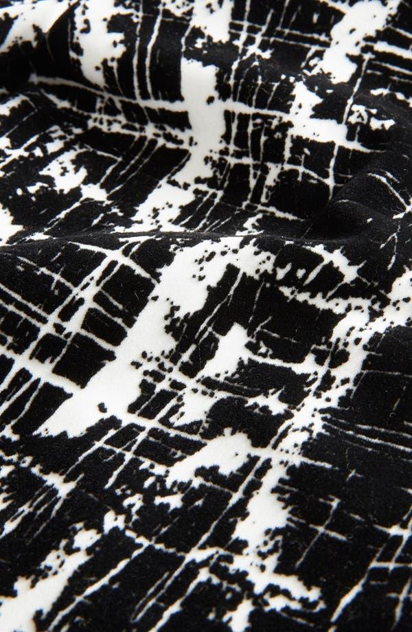 Alternate Image 3  - Topshop Flocked Scratch Print Skinny Pants