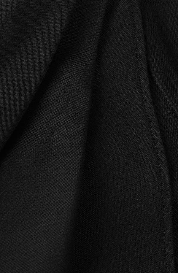 Alternate Image 4  - Topshop Sculpted Pleat Pencil Dress