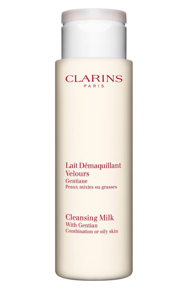 Alternate Image 1 Selected - Clarins Cleansing Milk with Gentian for Combination/Oily Skin