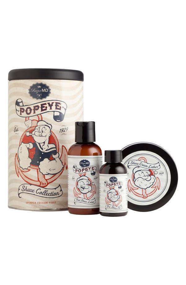 Alternate Image 1 Selected - Razor MD® 'Popeye®' Shave Collection