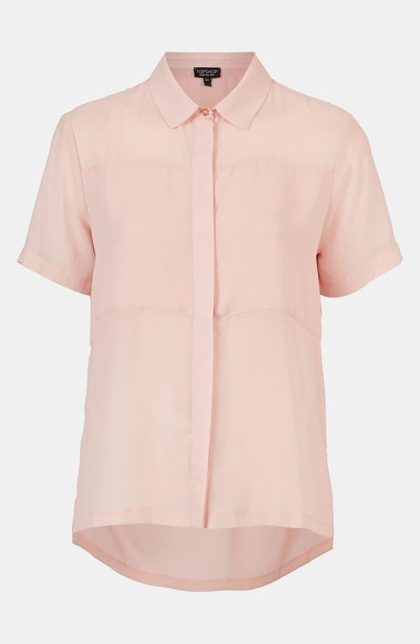 Main Image - Topshop Paneled Shirt