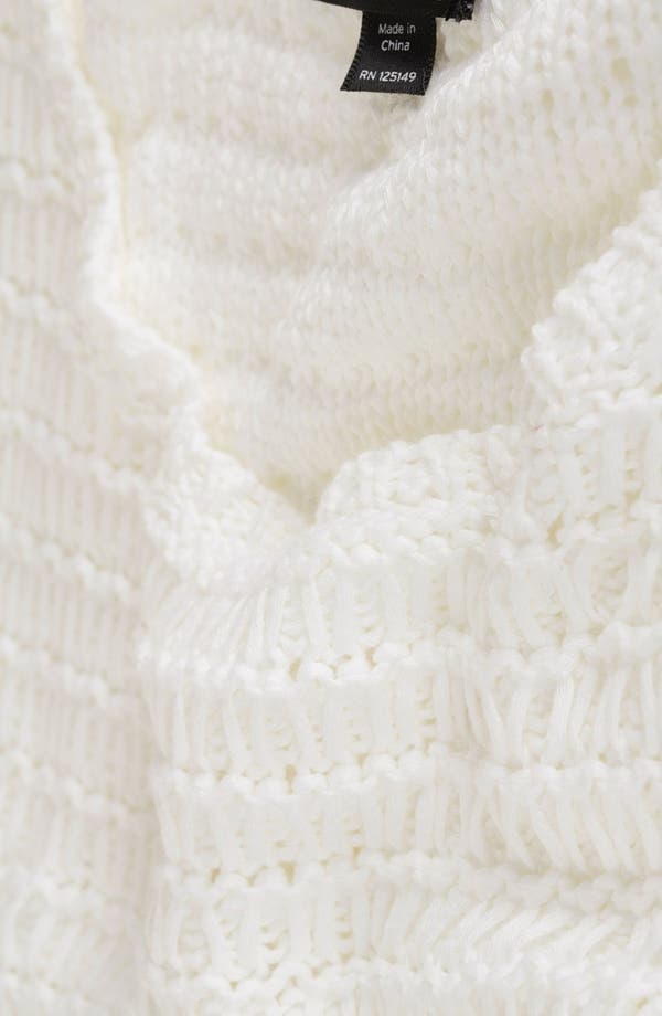 Alternate Image 3  - Topshop Crochet Crop Sweater