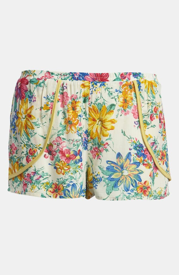 Alternate Image 1 Selected - Lucca Couture Floral Shorts