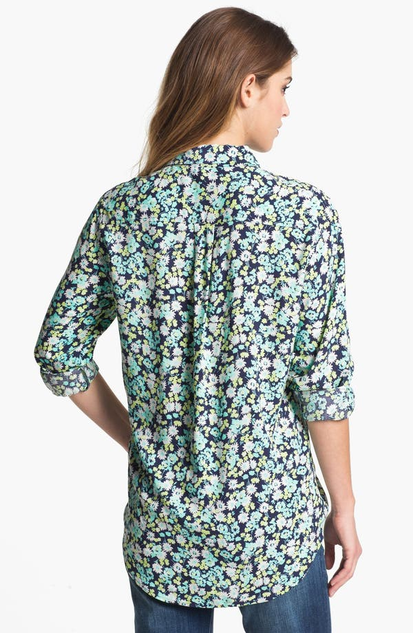 Alternate Image 2  - Two by Vince Camuto Vintage Floral Utility Shirt