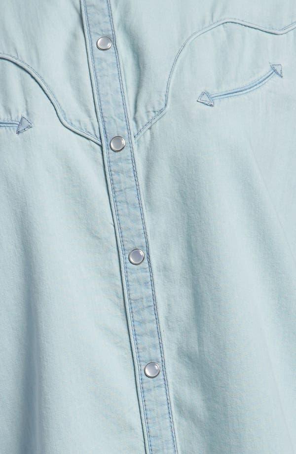 Alternate Image 4  - Leith Chambray Western Shirt