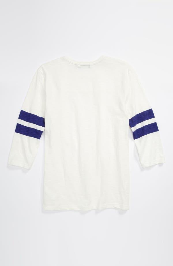Alternate Image 2  - Topman 'Varsity Jersey' Three Quarter Sleeve T-Shirt