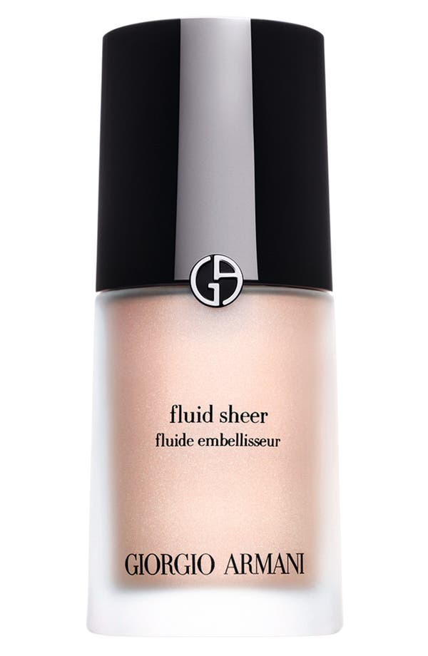 Alternate Image 1 Selected - Giorgio Armani Fluid Sheer