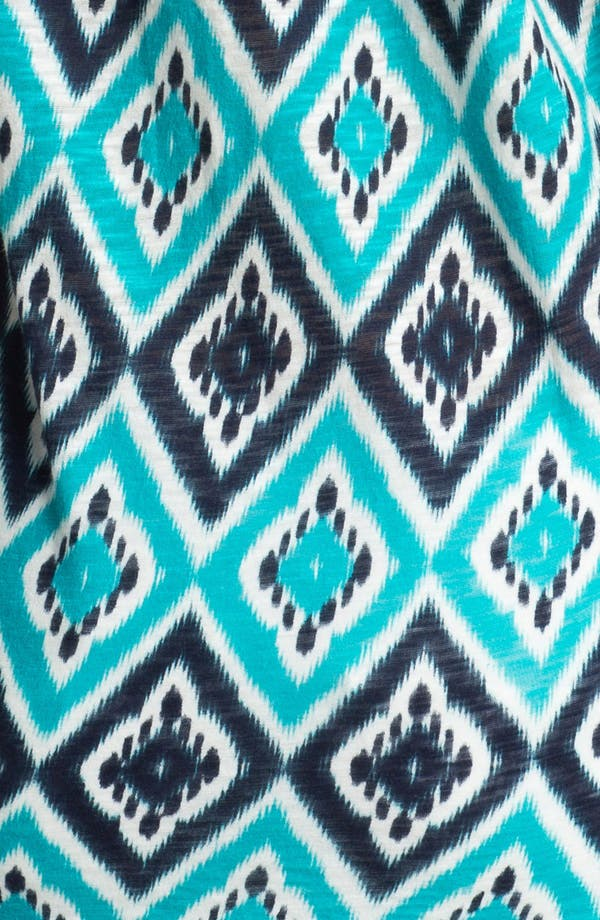 Alternate Image 3  - Lucky Brand 'Ikat Diamond' Cotton Top