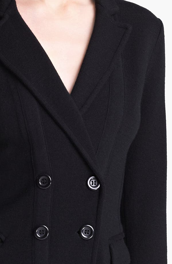 Alternate Image 3  - Armani Collezioni Double Breasted Wool & Silk Jacket