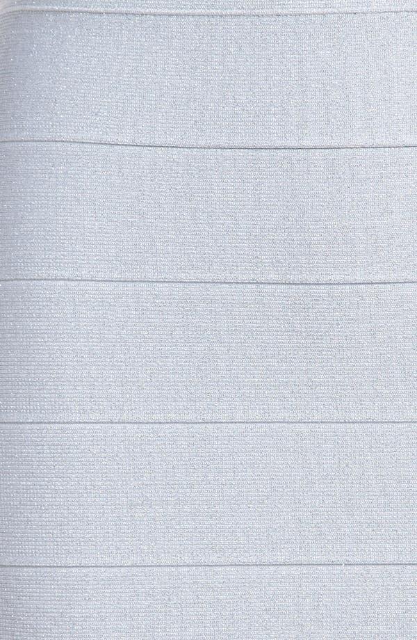 Alternate Image 4  - BB Dakota Metallic Bandage Miniskirt