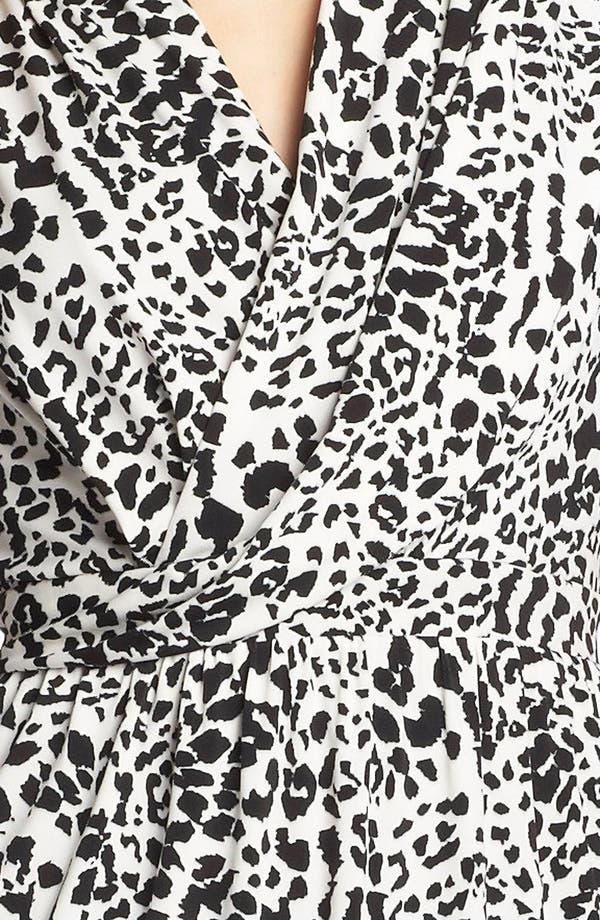 Alternate Image 3  - Donna Ricco Print Jersey Dress