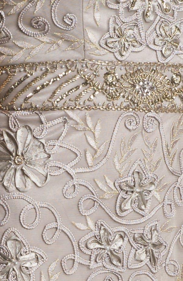 Alternate Image 3  - Sue Wong Embellished Strapless Sheath Dress