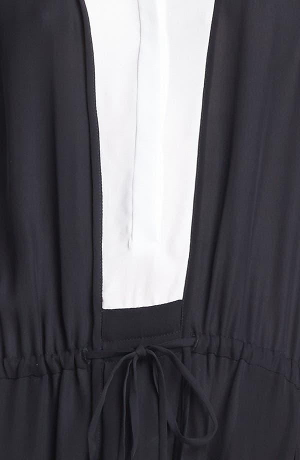 Alternate Image 3  - A.L.C. 'Solange' Two Tone Dress