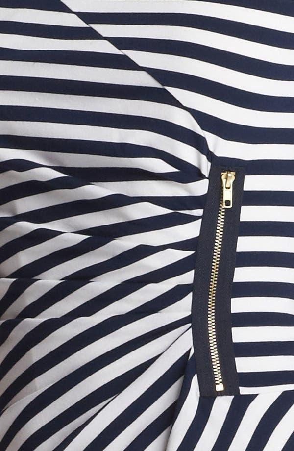 Alternate Image 3  - Tahari Stripe Jersey Sheath Dress