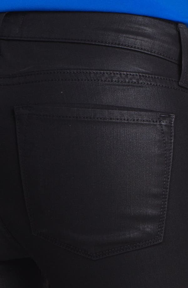 Alternate Image 3  - Vince Coated Skinny Stretch Jeans