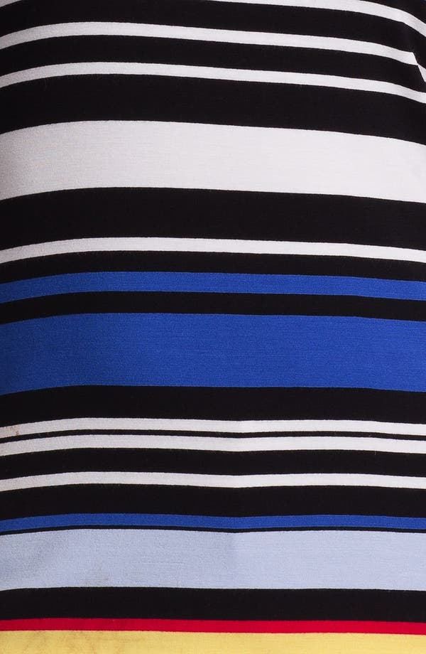 Alternate Image 3  - Vince Camuto Back Cutout Stripe Tee