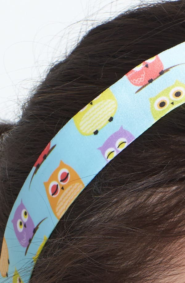 Alternate Image 2  - Sweaty Bands 'Hooty Tooty Owls' Head Wrap