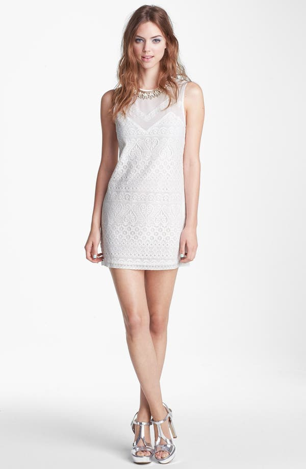 Alternate Image 1 Selected - ASTR Lace Shift Dress