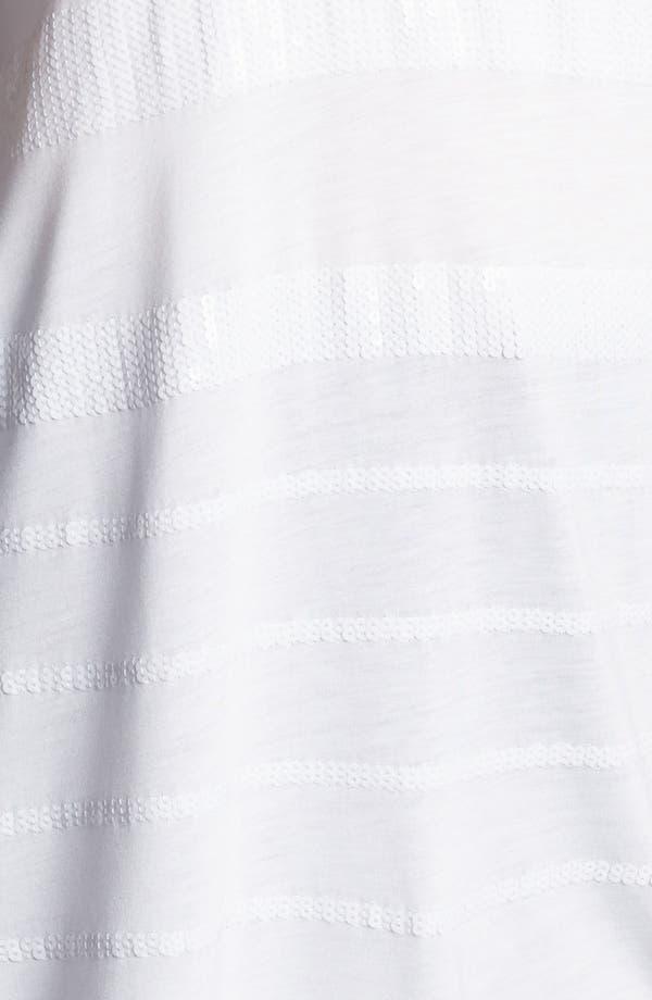 Alternate Image 3  - Kische Sequin Stripe Tunic (Plus Size)