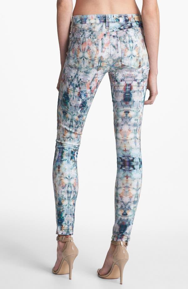 Alternate Image 2  - Paige Denim 'Verdugo' Print Ultra Skinny Jeans (Daydreamer)