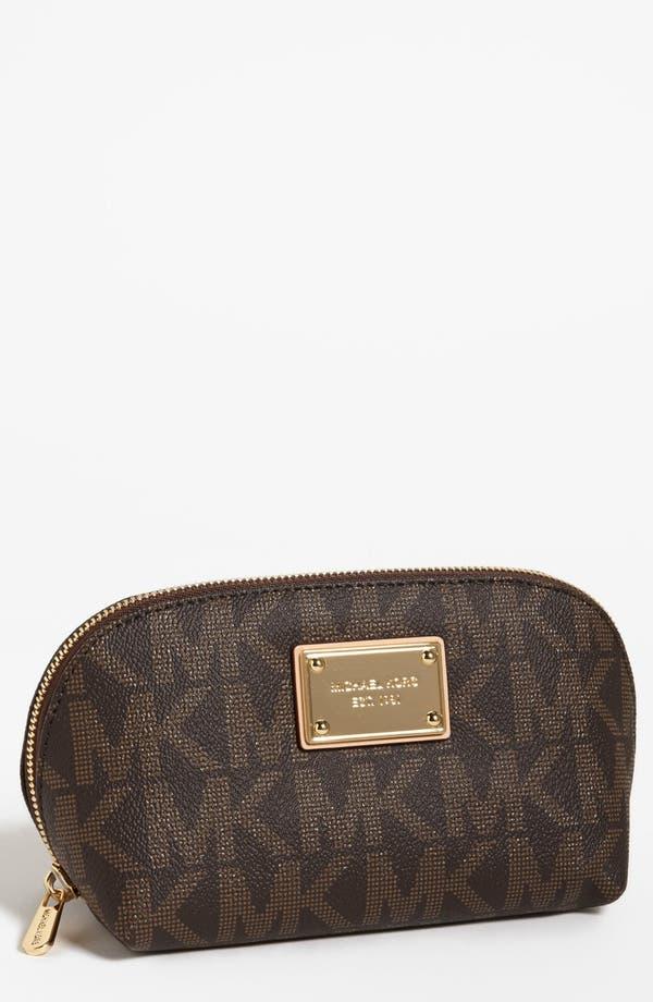 Main Image - MICHAEL Michael Kors 'Jet Set Signature' Cosmetics Bag
