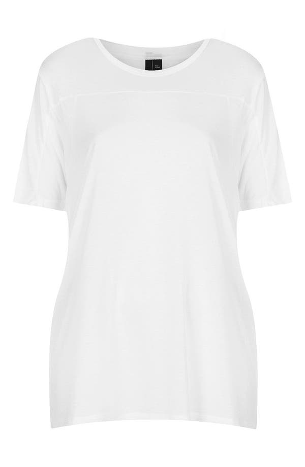 Alternate Image 1 Selected - Topshop Boutique Seamed Tee