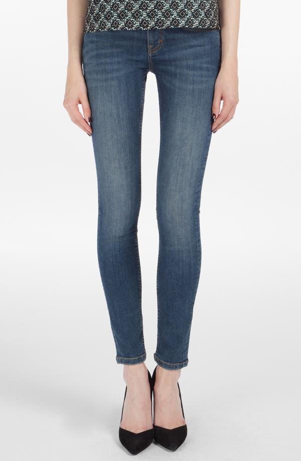 Main Image - maje 'Robin' Ankle Stretch Skinny Jeans