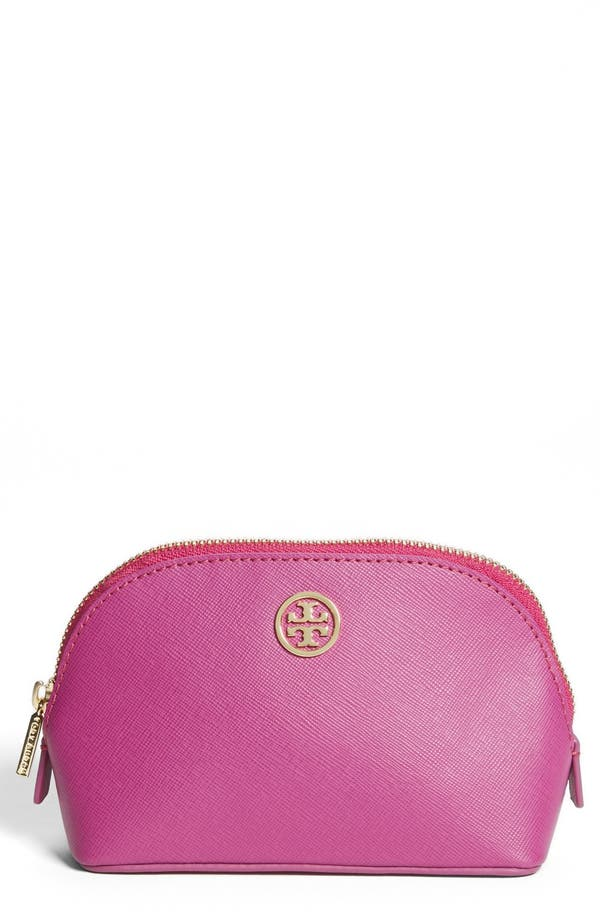 Alternate Image 1 Selected - Tory Burch 'Robinson - Small' Cosmetics Case