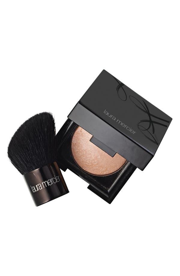 Alternate Image 1 Selected - Laura Mercier Matte Radiance Healthy Glow Baked Powder & Mini Face Brush