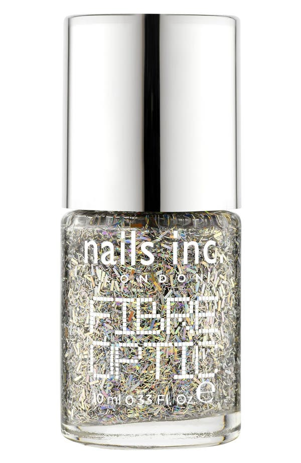 Alternate Image 1 Selected - nails inc. London 'Fibre Optic' Nail Polish