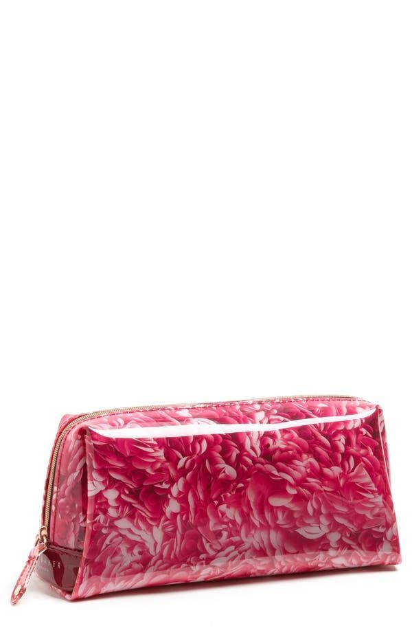 Alternate Image 1 Selected - Ted Baker London 'Rosette - Large' Cosmetics Case