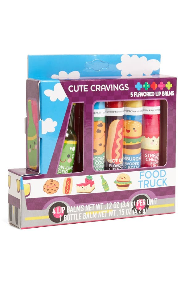 Alternate Image 1 Selected - Lotta Love 'Foodie Truck' Lip Balm (Girls)