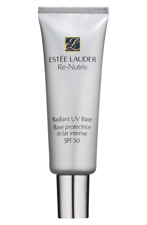 Alternate Image 1 Selected - Estée Lauder 'Re-Nutriv' Radiant UV Base SPF 50