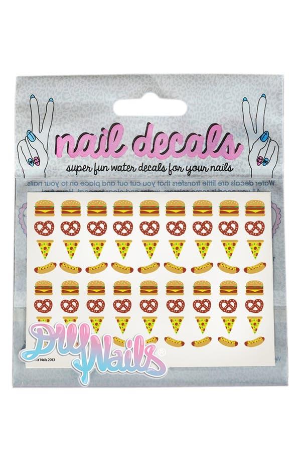DIY NAILS 'Junk Food' Nail Decals