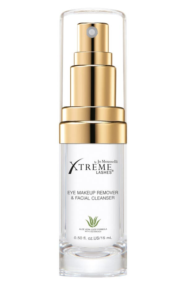 Alternate Image 1 Selected - Xtreme Lashes by Jo Mousselli® Eye Makeup Remover & Facial Cleanser (0.5 oz.)